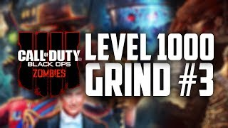 BLACK OPS 4 ZOMBIES HIGH ROUNDS!! LEVEL 1000 GRIND!! LEVEL 964 (COD: BO4 Zombies)