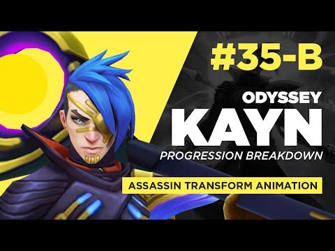 [35-B] Odyssey Kayn - Assassin Transform - Animation Progression