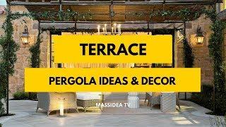 65+ Beautiful Terrace Pergola Ideas & Decor for Your House