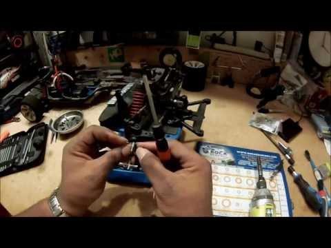 RDLogics Alun Transmission Case pour HPI Baja 5B Silver