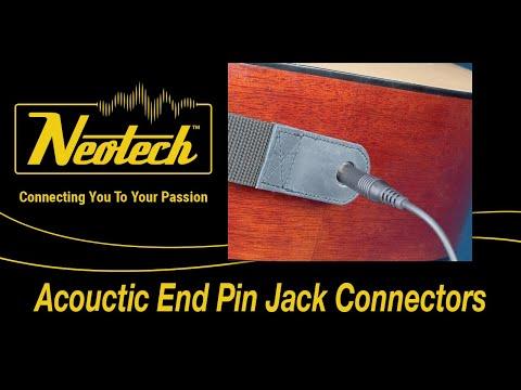 Slimline Strap Acoutic End Pin Jack - Product Peek
