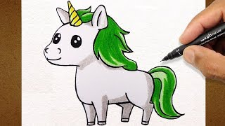 Como Desenhar UNICORNIO , How to Draw