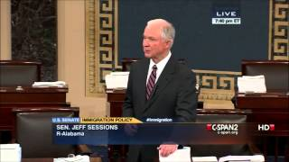 Senators Jeff Sessions & Mike Lee Discuss Immigration Bill  and Amendments Free HD Video