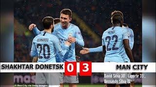 Diễn biến trận đấu Shakhtar Donetsk vs  Man City