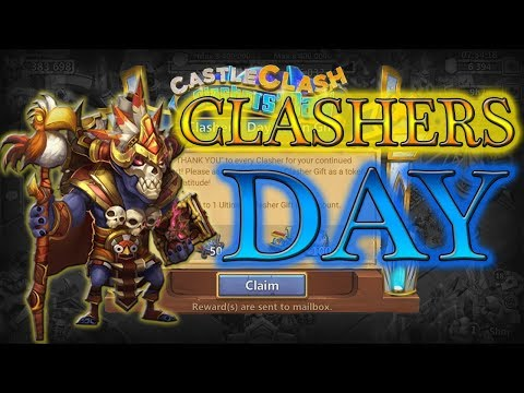 Insane Clashers Day Gifts Opening L F2P Archdemon L Castle Clash