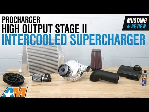 Procharger High Output Stage II Intercooled Supercharger Tuner Kit (15-17  GT)