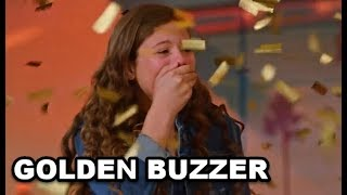 GOLDEN BUZZER   #1 The  MOST EMOTIONAL  13 Yr Old Singing   Don't Cry!