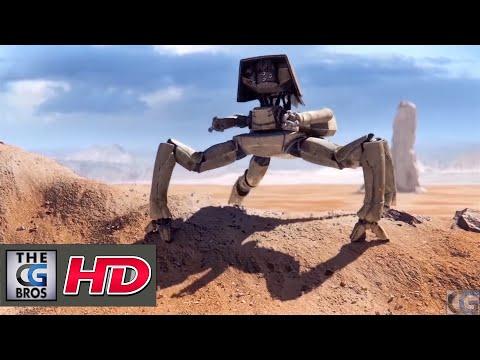 """CGI 3D Sci-Fi Short : """"Autonomous"""" by - Team Autonomous"""