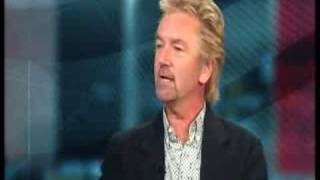 Noel admits TV license evasion live on BBC news!