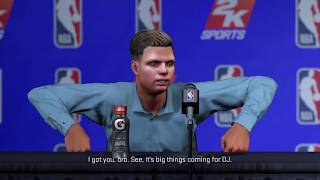 What happens when you retire your myplayer nba 2k18 (you wont believe what happened)