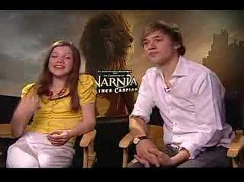 Georgie Henley William Moseley  for Prince Caspian