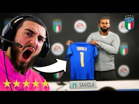 PEP SAVIOLA BECOMES ITALY WORLD CUP MANAGER!🔥 - FIFA 21 MANAGER CAREER MODE #7 |