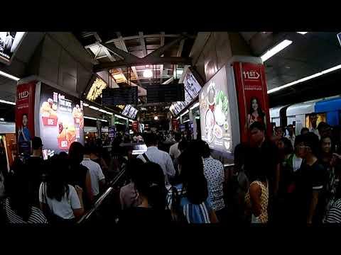 Bangkok BTS aerial metro - 1080p H9R Enken cam