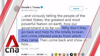 "US House rebukes Trump over ""racist"" tweets"
