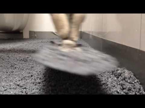 Troffelvloer In Badkamer : Van tegelvloer naar troffelvloer mortelvloer voor toilet en