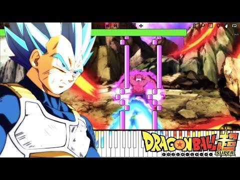 A Saiyan's Pride - Dragon Ball Super OST , Vegeta DEFEATS Toppo , Episode 126 (Piano Tutorial)