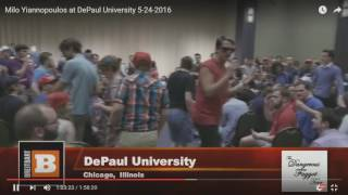 Milo Yiannopoulos Owns BLM Protestors At Conference