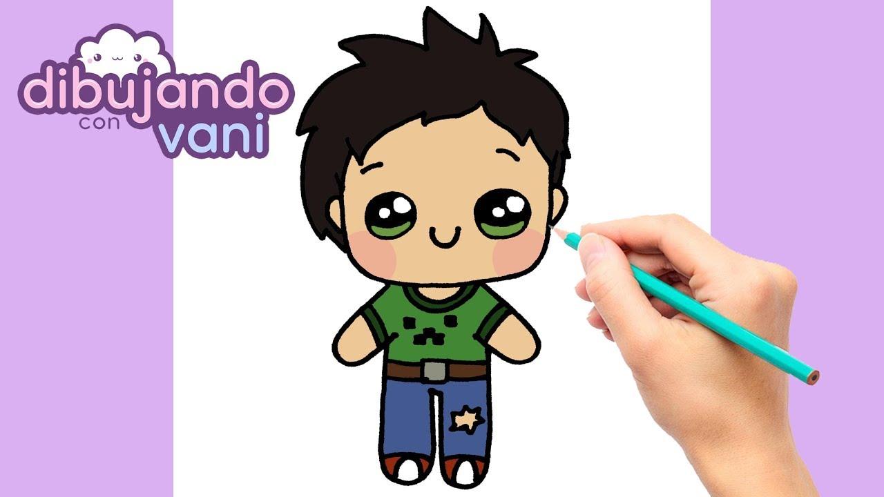 Como Dibujar Un Niño Kawaii Dibujos Kawaii Dibujos Faciles Youtube