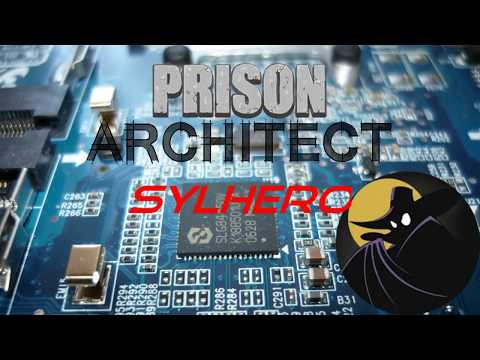 SylHero plays Prison Architect - 78 - Finishing wiring for new jobs