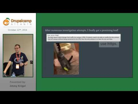 DrupalCamp Atlanta 2016: Survive Shared Hosting (Jimmy Kriigel) on YouTube
