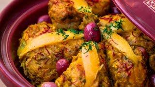 [ENG] Moroccan Chicken Tagine (Stew)  / طاجين الدجاج بالحامض المصير - CWA - Episode 441