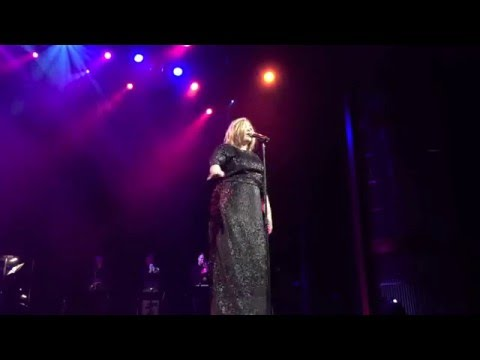 JUST ADELE Tribute (Christina Rogers) Celebrity Silhouette Highlights