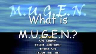 M.U.G.E.N. Dream Matches Intro/Teaser