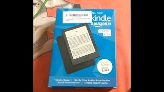 Kindle starter Pack 8th Generation Unboxing