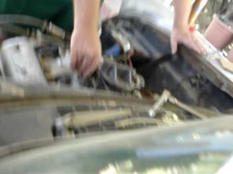 1958 ford 292 yblock at idle! love the sound! - YouTube