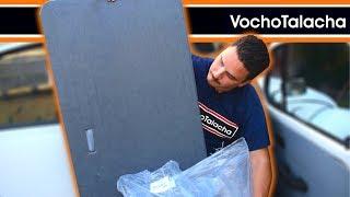 Cómo reemplazar las tapas interiores de puertas y habitáculo trasero del vocho - VochoTalacha