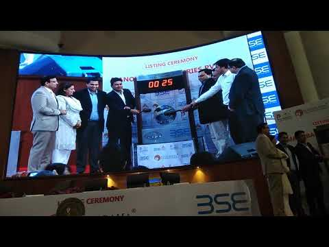 Listing Ceremony of Manorama Industries Limited