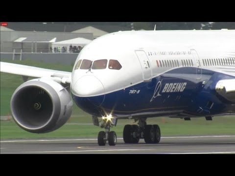 Primeiro voo do Boeing 787-9 Dreamliner