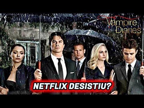 Quando a 8 temporada de THE VAMPIRE DIARIES chega na Netflix
