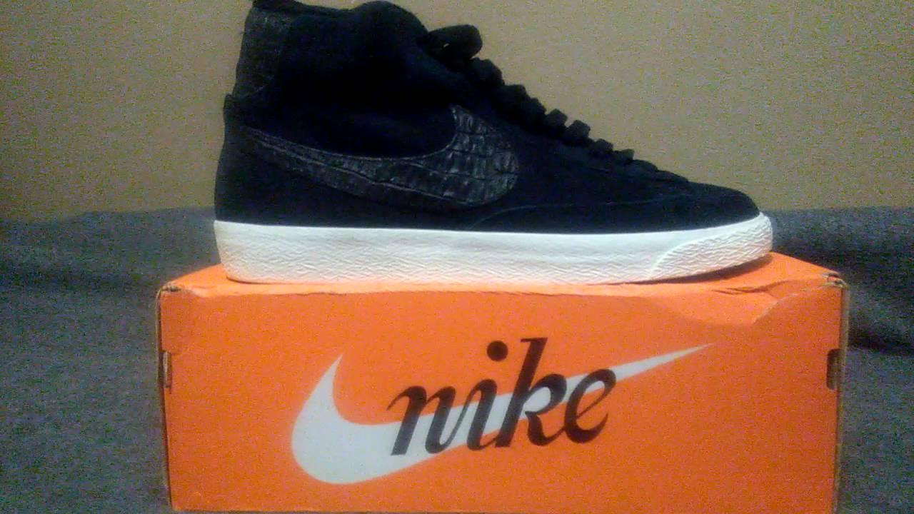 1b25d0414f9380 Nike blazer review - YouTube