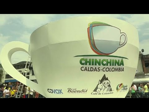 شاهد: في كولومبيا.. 20 طنا من القهوة داخل فنجان عملاق لدخول غينيس …  - نشر قبل 3 ساعة