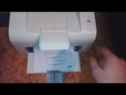 ML-1615.  Проблема с валом захвата бумаги.