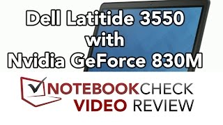 Dell Latitude 3550 Review. Business Notebook with Gaming Capability.