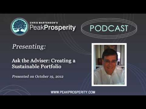 Ask the Adviser: Creating a Sustainable Portfolio