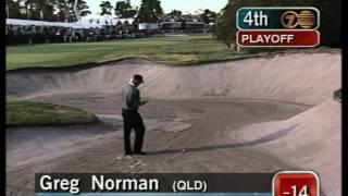 1997 Australian Open Golf, full Westwood v Norman play-off | 7 Sport | Metropolitan Golf Club