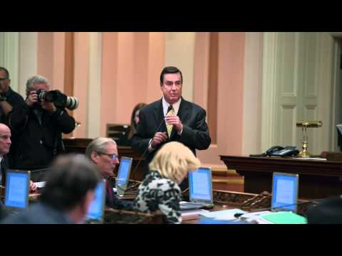 California Senate suspends senators