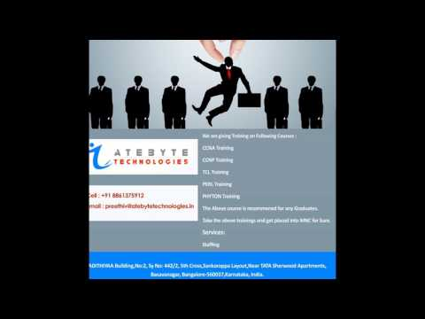 Atebyte Technologies Bangalore - CCNA,Perl,CCNP,TCL Training,Python Training