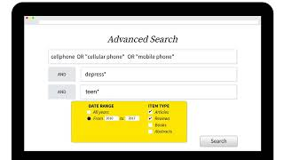 Finding Articles in Academic Databases