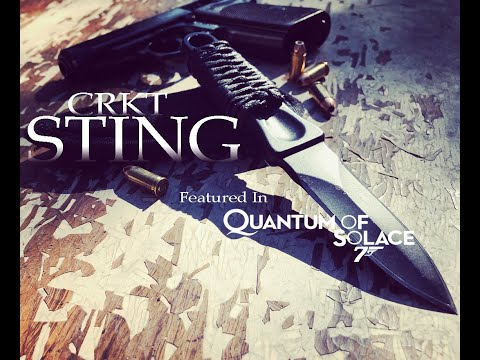 CRKT Sting Quantum of Solace Knife Review!