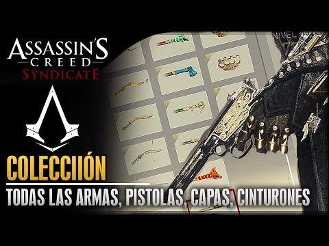 Assassin's Creed Syndicate | Colección | Todas las armas, Guanteletes, Pistolas, Cinturones & Capas