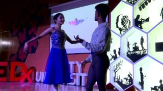 Finest Indian Male Ballet Dancer | Sanjay Khatri | TEDxAmityUniversity