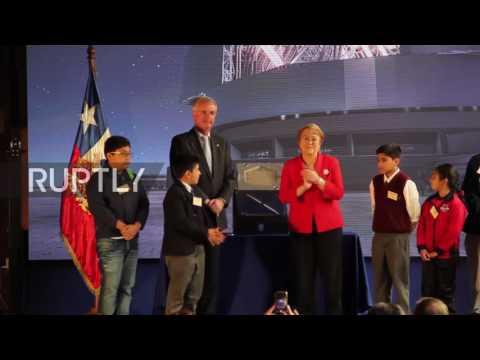 Chile: President Bachelet inaugurates construction of world