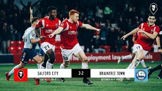 Salford City 2-2 Braintree Town | National League 13/10/18