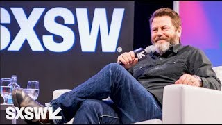 A Conversation with Nick Offerman Moderated by Nick Kroll — SXSW 2017