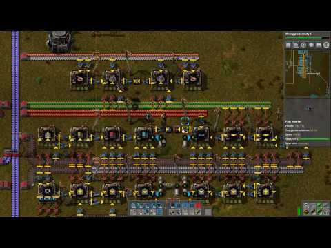 Factorio Casual and Relaxed - Part 25 - Expanding Iron Ore Smelting and Extending Rail Network to Ma