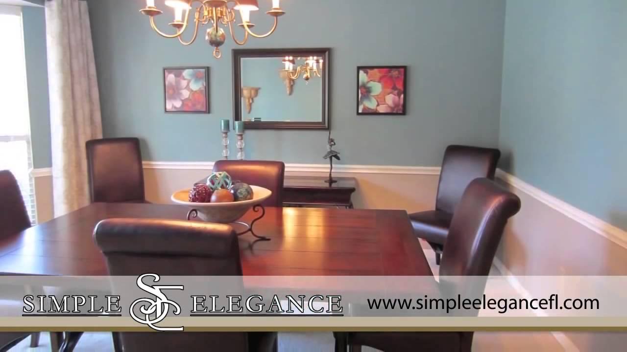 simple elegance home staging in hernando beach fl youtube